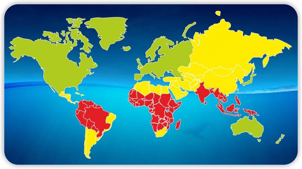 mapa mundo viajante