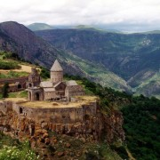 Tatev Monastery is located in South-East of Armenia